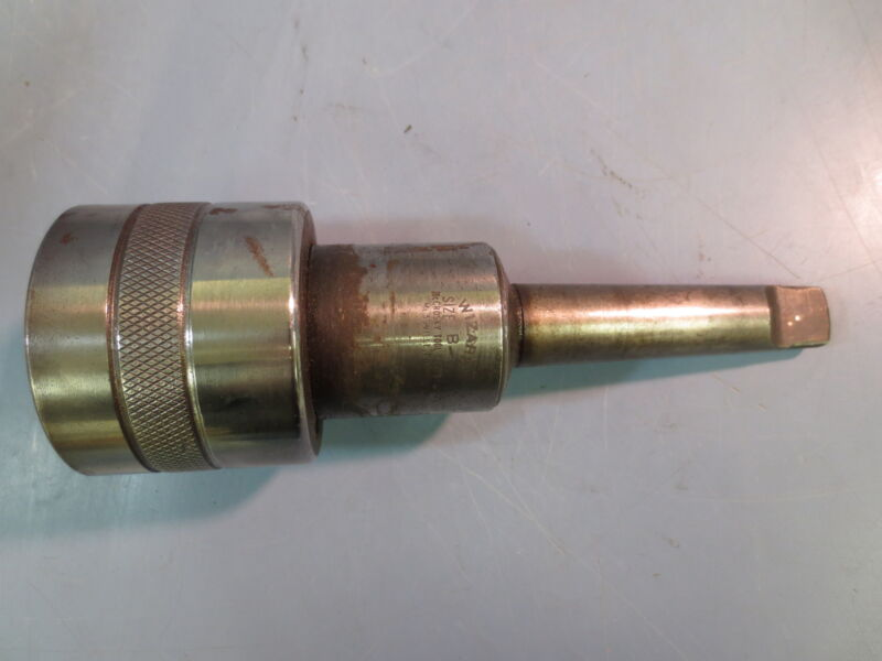 Used McCrosky Wizard Size B-3 Quick Change Chuck Tooling