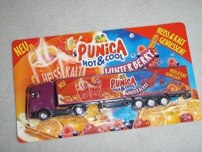 Werbetruck LKW  Mercedes Truck - Punica Winterberry Hot & Cool - neu OVP
