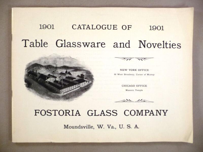 Fostoria Glassware CATALOG - 1901