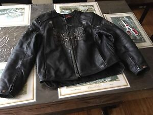 First racing leather jacket