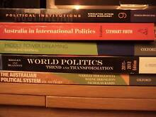 ASSORTED POLITICS TEXTBOOKS - $10 EACH Kensington Melbourne City Preview