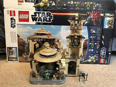 Lego Star Wars Jabba's Palace (9516) Complete With Box