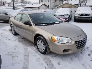 2004 Chrysler Sebring Only 158397km