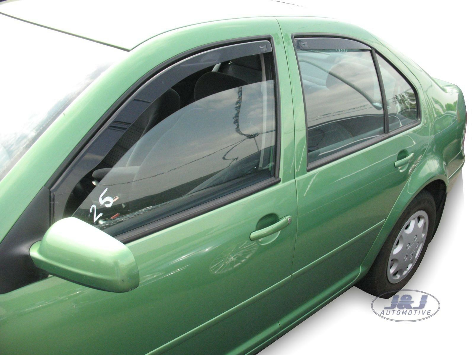 HEKO wind deflectors FULL 4 piece set VW BORA 4 doors 1998-2005