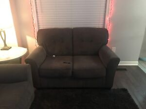 Ashley furniture grey couches