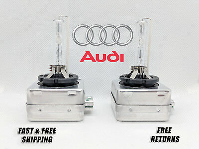 Stock Fit HID Headlight Bulbs for Audi Q5 2009-2017 High & Low Beam Set 2