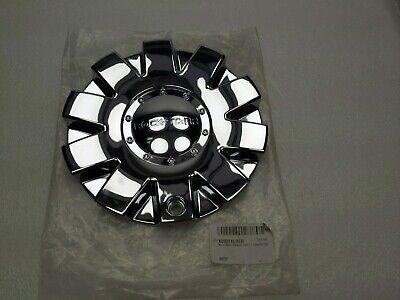 Black Rock Wheels Custom Wheel Rim Hub Cover Push Through Center Cap 231923BR