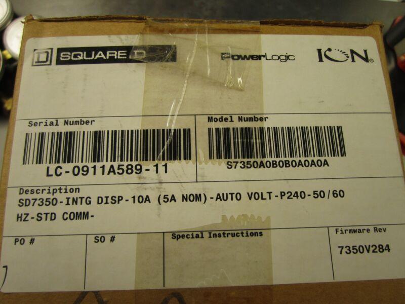 New Schneider Square D S7350a0b0b0a0a0a New In Box
