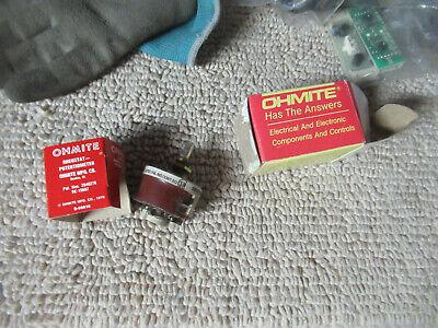 Vintage Ohmite Rheostat Potentiometer 2040278 19607potentiometer C50
