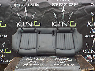 AUDI A6 C7 2011 - 2015 S-LINE BLACK LEATHER INTERIOR SEATS SET FRONT AND REAR