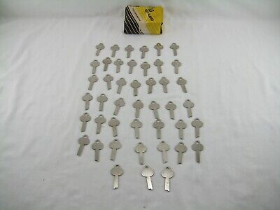 Ilco 1303 Key Blank Lot Of 44 1303 Steel Key Blank Lot Of 44 Nos Free Shipping