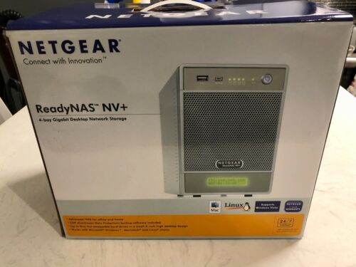 NETGEAR ReadyNAS NV+ RND4000-100NAS mint condition - works great (see photos)