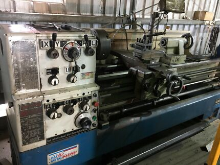 Hafco lathe CL60A metal turning
