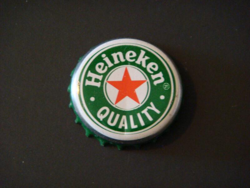 2x Netherlands Different Old Rare Used Bottle Cap Heineken Pilsener Beer Chapa
