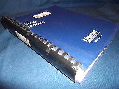 Link Belt 800lx Excavator Service Shop Repair Manual