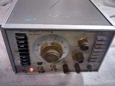 Krohn-hite Model 5400b Function Generator 2mhz-5mhz Frequency Range 50-400hz 2