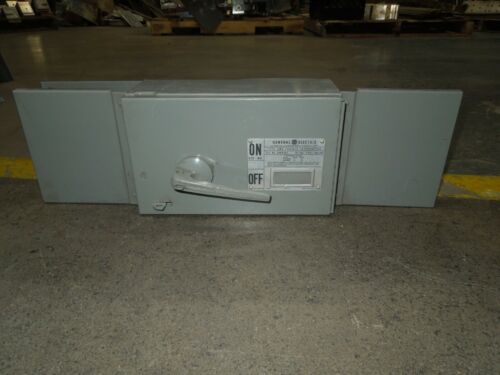 Ge Qmr362 60a Single 3ph 600v Fused Panelboard Switch W/ Hardware Grey Handle