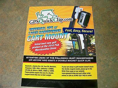 GPS Quick Clip -- Golfs Best GPS/Rangefinder Accessory!