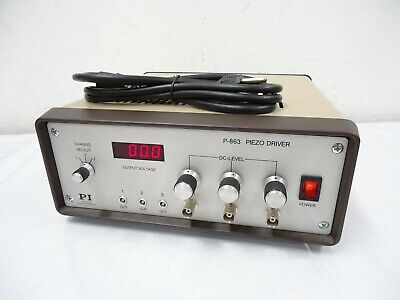 Physik Instrumente P-863.00 Piezo Driver With Power Cord