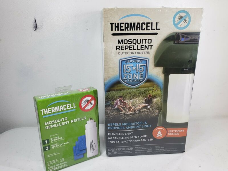 ThermaCELL Outdoor Mosquito Bug Repellent Lantern New with refills
