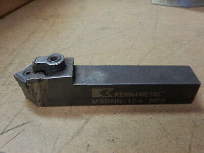 Kennametal Msdnn-124 34x34 Shank Metal Lathe Tool Holder