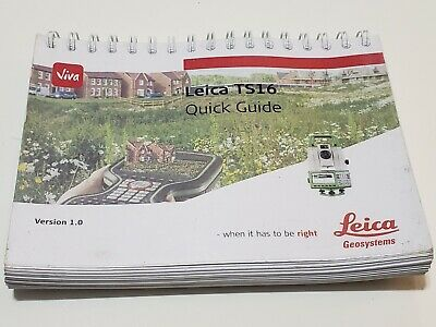 Leica Ts16 Quick Guide