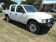2001 Holden Rodeo dual cab ute Deepwater Glen Innes Area Preview