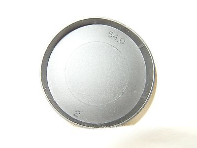 54mm Camera Replacement Push-On Lens Protector Cover Cap Black Not Used