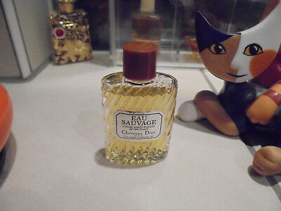 Parfüm Miniatur Eau Sauvage von Christian Dior 10ml After Shave segunda mano  Embacar hacia Spain