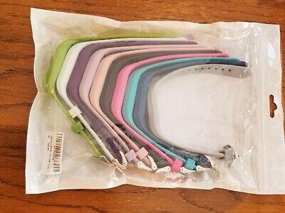 Set of 10 Watch Bands Garmin Vivofit 3 Sport Silicone Wrist Straps Lot.7 are NEW