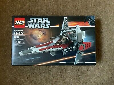 LEGO 6205 Star Wars V-Wing Fighter Retired & Rare Brand New In Sealed Box £0.99