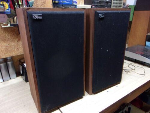 Vintage Ohm Acoustics C2 Speakers Walnut - projects