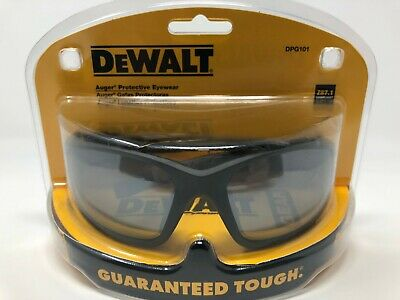 Dewalt Auger Protective Eyewear Dpg101 Full Frame Silver Mirror Lens