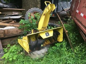 Snow blower for john deere tractor