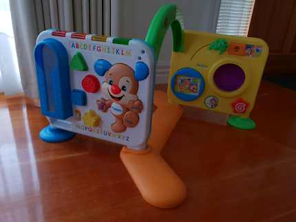 Fisher-Price Go Baby Go Crawl and Cruise Musical Jungle | Toys ...