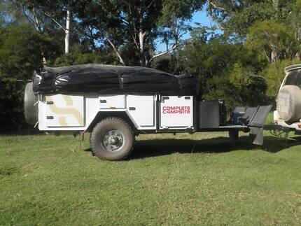 Complete Campsite Camper with extra large living/sleeping area