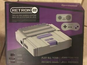 Retron game system, 2 controllers