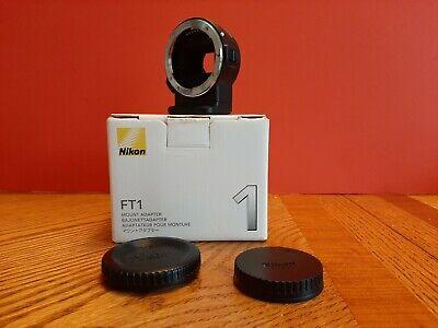 Nikon FT1 Mount Lens Adapter