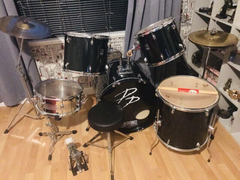 Performance Percussion 7 Piece Drum Kit