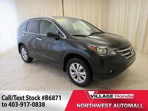 2014 Honda CR-V Touring AWD | Loaded | Navi | Leather |