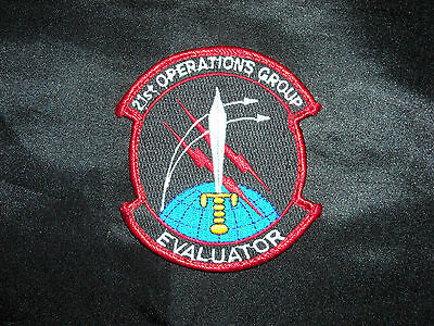Usaf Af 21St Operations Group Evaluator Space Dsp Sbirs Satellite Hook Patch