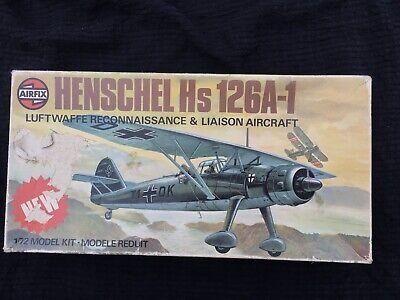 Airfix 1977 Henschel Hs 126A-1