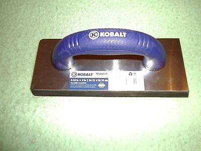 (5) NEW Kobalt 9 1/2-in x 4-in  Gum Rubber Grout Float 0588078 Tile Flooring