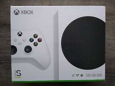 NEW Microsoft Xbox Series S 512GB Video Game Console White IN HAND FREE SHIPPING