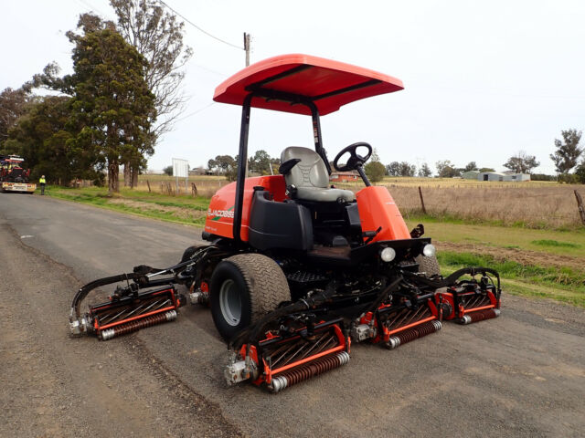 2015 Jacobsen Lf4677 139 Quot Ride On Fairway Cylinder Reel Greens Golf Course Lawn Mower Toro