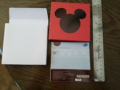 Disney Mickey Mini Paper Album Kit, Accordion Card to mail 4 inches