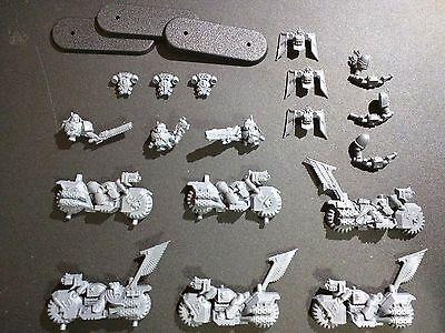 Warhammer 40k Dark Vengeance Dark Angels Ravenwing Bike Squad Bits