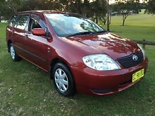 2001 Toyota Corolla Wagon Mayfield West Newcastle Area Preview