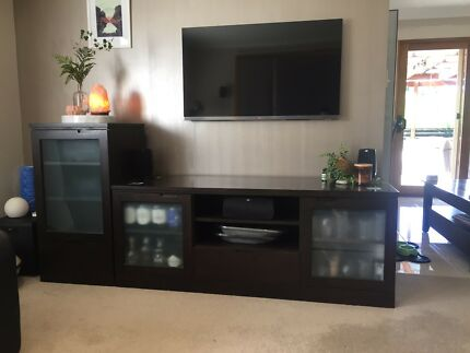 Entertainment unit 2 piece