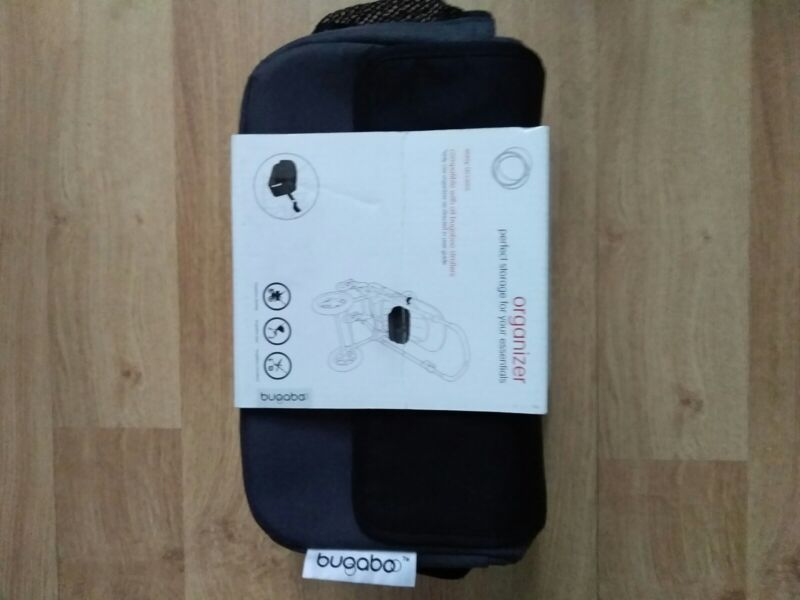 Bugaboo Universal Stroller Organizer Dark Gray Works with Cameleon Bee Like New